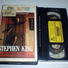 Cine: PESADILLAS NOCTURNAS - STEPHEN KING PELICULA VHS. Lote 139650074
