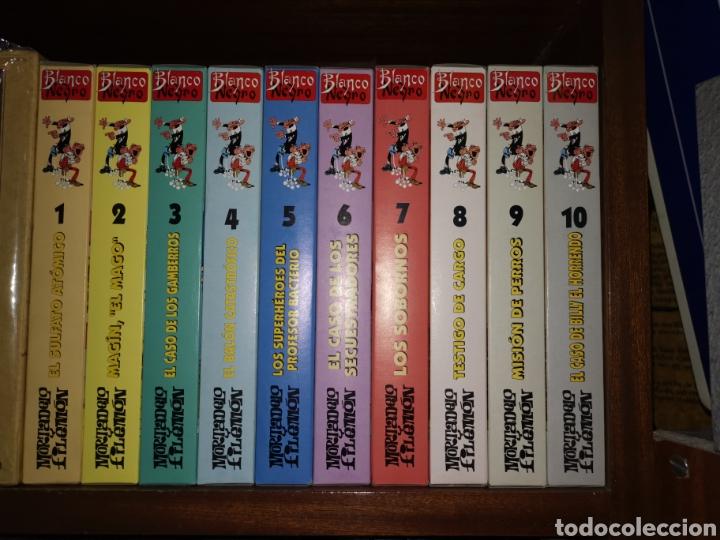 10 CINTAS DE VHS MORTADELO Y FILEMON, BLANCO Y NEGRO (Cine - Películas - VHS)