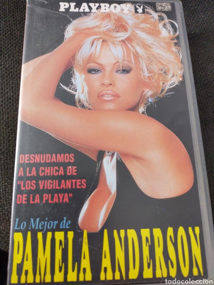 PLAYBOY LO MEJOR DE PAMELA ANDERSON VHS BUEN ESTADO (Cine - Películas - VHS)