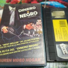 Cine: VHS - DINERO NEGRO 1984 CARLOS BENPAR, PEDRO GUIAN, MARTA PADOVAN. Lote 254029665