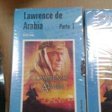 Cine: LAWRENCE DE ARABIA PARTE I Y PARTE II. VHS. Lote 254439230