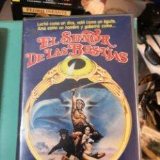 Cine: VHS\. EL SEÑOR DE LAS BESTIAS ( SWORD & SORCERY) CULTAZO OCHENTERO • SUB-GENERO: ESPADA Y BRUJERÍA. Lote 254507710
