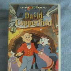 Cine: VHS DAVID COPPERFIELD (1983) DE CHARLES DICKENS. DIBUJOS ANIMADOS. BUEN ESTADO. Lote 254567055