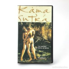 Cine: KAMA SUTRA SECRETOS SEXUALES LA VERDAD EN TORNO AL AMOR MADISON STEPHEN SCOTT 1993 KAMASUTRA ERO VHS. Lote 254776280