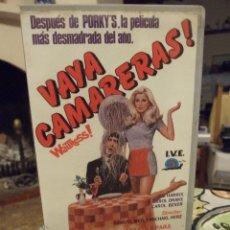 Cine: VAYA CAMARERAS - SAMUEL WEIL - JIM HARRIS , CAROL DRAKE , CAROL BEVER - IVE 1985. Lote 254837855