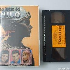 Cine: VHS - LA DIOSA DEL NILO (1961) VICENT PRICE, JEANNE CRAIN. Lote 29848160