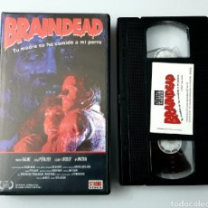 Cine: VHS - BRAINDEAD - PETER JACKSON, STRONG VIDEO. Lote 255305300