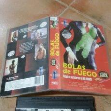 Cine: BOLAS DE FUEGO VHS ORIGINAL. Lote 255373090