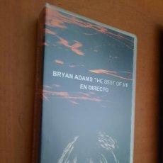 Cine: BRYAN ADAMS THE BEST OF ME. EN DIRECTO. VHS. EN BUEN ESTADO. DIFICIL DE ENCONTRAR. Lote 255386375