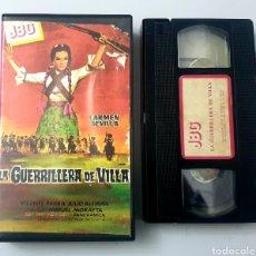 Cine: VHS - LA GUERRILLERA DE VILLA - CARMEN SEVILLA, VICENTE PARRA. Lote 29846402
