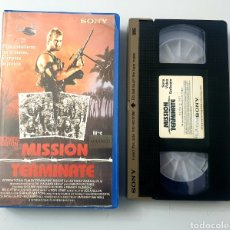 Cine: VHS - MISSION TERMINATE (1991) TROMA. Lote 29848451
