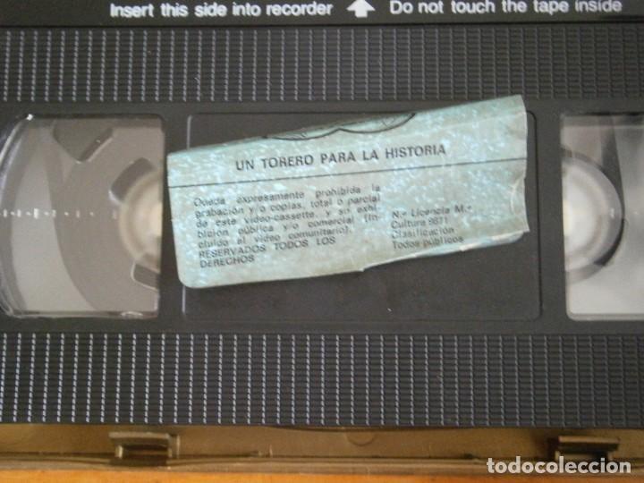 Cine: PELICULA VHS, UN TORERO PARA LA HISTORIA - Foto 2 - 257401555