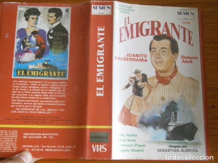 PELICULA VHS, EL EMIGRANTE (Cine - Películas - VHS)