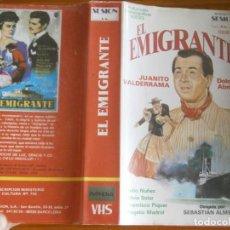 Cine: PELICULA VHS, EL EMIGRANTE. Lote 257401665