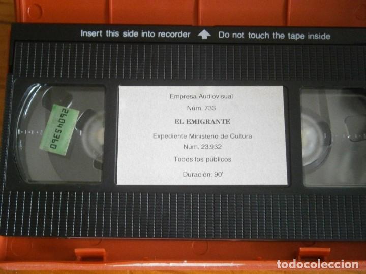 Cine: PELICULA VHS, EL EMIGRANTE - Foto 2 - 257401665