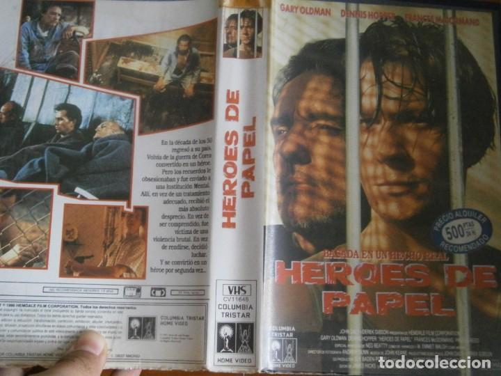 PELICULA VHS, HEROES DE PAPEL (Cine - Películas - VHS)