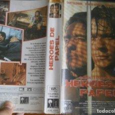 Cine: PELICULA VHS, HEROES DE PAPEL. Lote 257401925