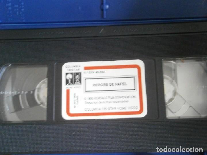 Cine: PELICULA VHS, HEROES DE PAPEL - Foto 2 - 257401925