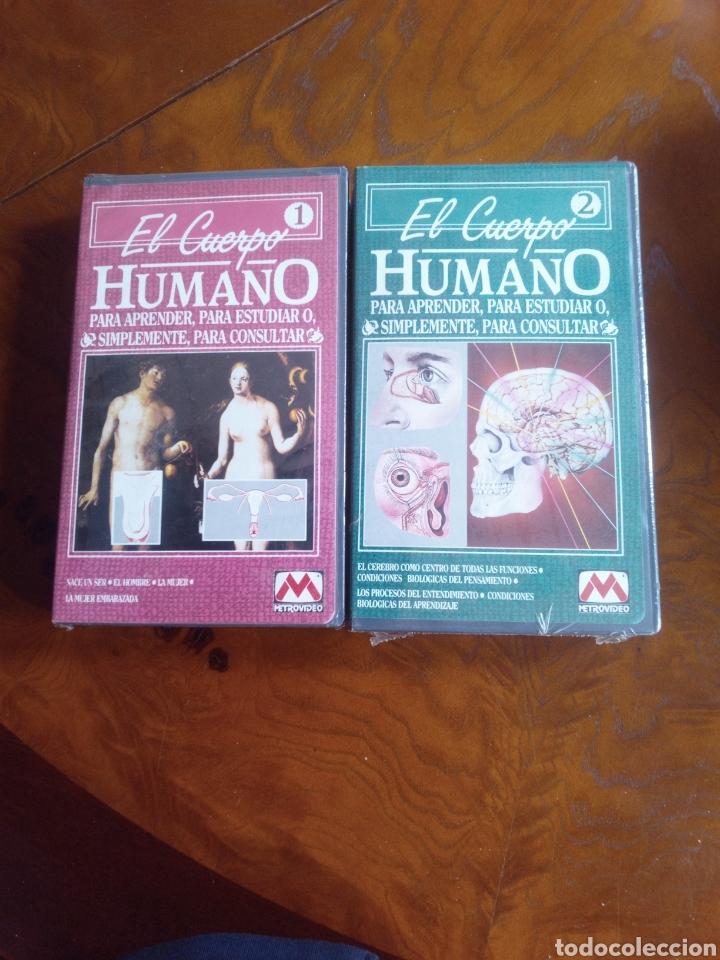 Cine: VHS EL CUERPO HUMANO, COLECCIÓN COMPLETA DE 9 CINTAS A ESTRENAR - Foto 2 - 257402085