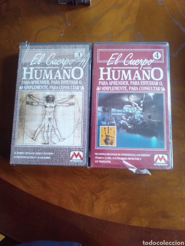 Cine: VHS EL CUERPO HUMANO, COLECCIÓN COMPLETA DE 9 CINTAS A ESTRENAR - Foto 4 - 257402085