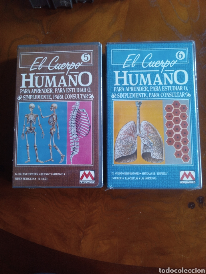 Cine: VHS EL CUERPO HUMANO, COLECCIÓN COMPLETA DE 9 CINTAS A ESTRENAR - Foto 6 - 257402085