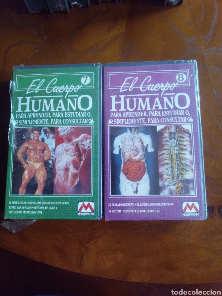 Cine: VHS EL CUERPO HUMANO, COLECCIÓN COMPLETA DE 9 CINTAS A ESTRENAR - Foto 8 - 257402085