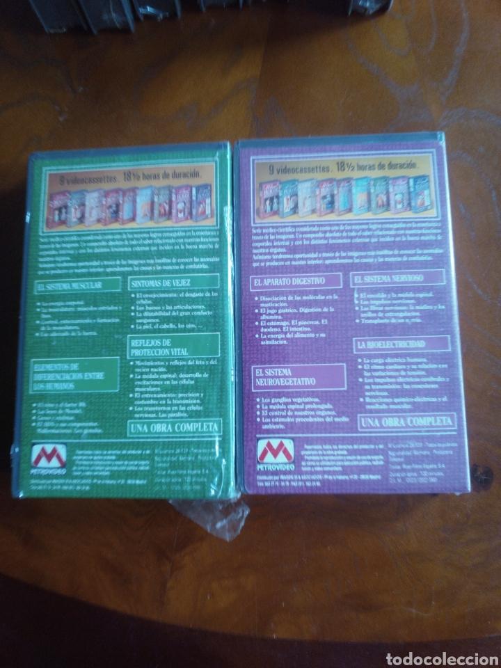 Cine: VHS EL CUERPO HUMANO, COLECCIÓN COMPLETA DE 9 CINTAS A ESTRENAR - Foto 9 - 257402085
