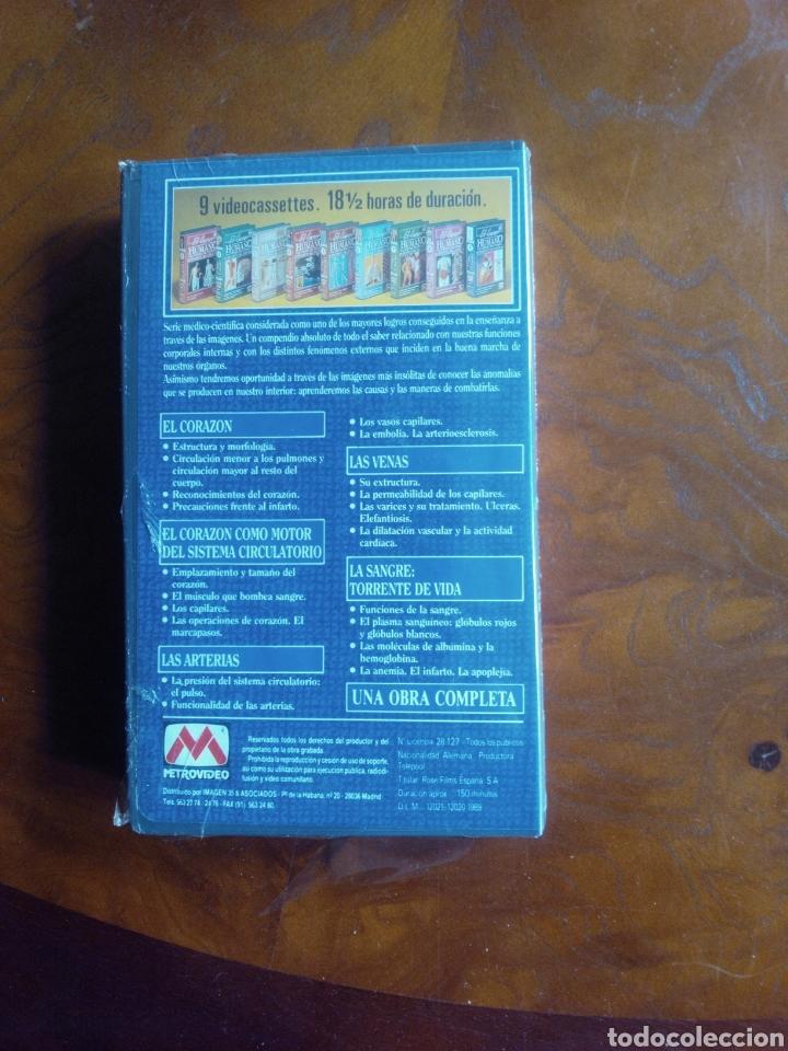 Cine: VHS EL CUERPO HUMANO, COLECCIÓN COMPLETA DE 9 CINTAS A ESTRENAR - Foto 11 - 257402085