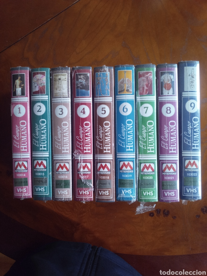 VHS EL CUERPO HUMANO, COLECCIÓN COMPLETA DE 9 CINTAS A ESTRENAR (Cine - Películas - VHS)