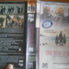 Cine: PELICULA VHS, CUANDO VUELVAN LAS BALLENAS. Lote 257402210