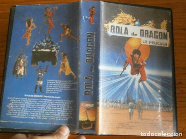 PELICULA VHS, BOLA DE DRAGON, LA PELICULA (Cine - Películas - VHS)