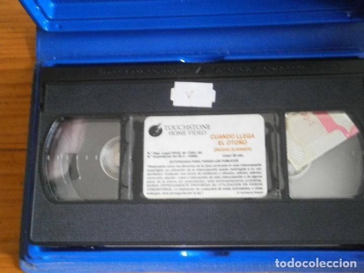 Cine: PELICULA VHS, CUANDO LLEGA EL OTOÑO - Foto 2 - 257402705