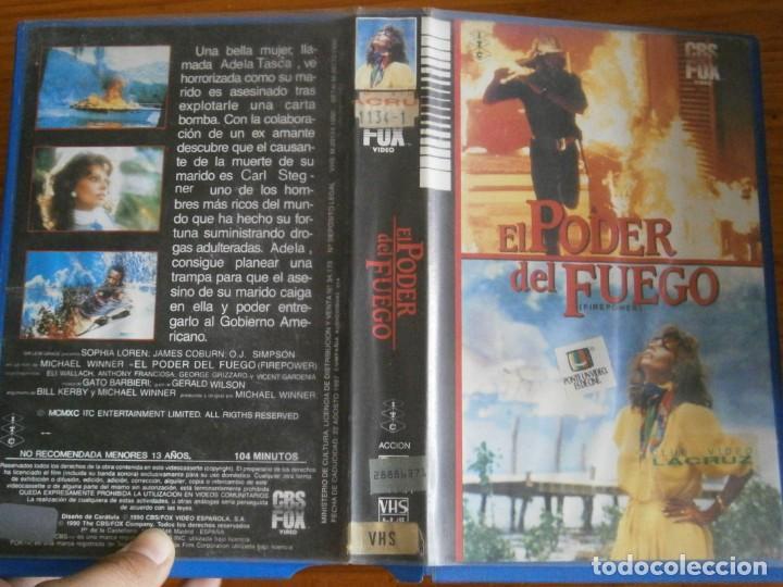 PELICULA VHS, EL PODER DEL FUEGO (Cine - Películas - VHS)