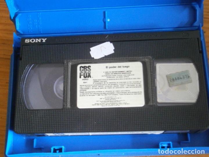 Cine: PELICULA VHS, EL PODER DEL FUEGO - Foto 2 - 257402895
