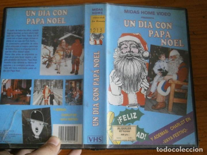 PELICULA VHS, UN DIA CON PAPA NOEL, UNICA EN TC (Cine - Películas - VHS)