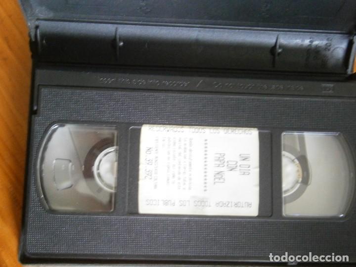 Cine: PELICULA VHS, UN DIA CON PAPA NOEL, UNICA EN TC - Foto 2 - 257403030