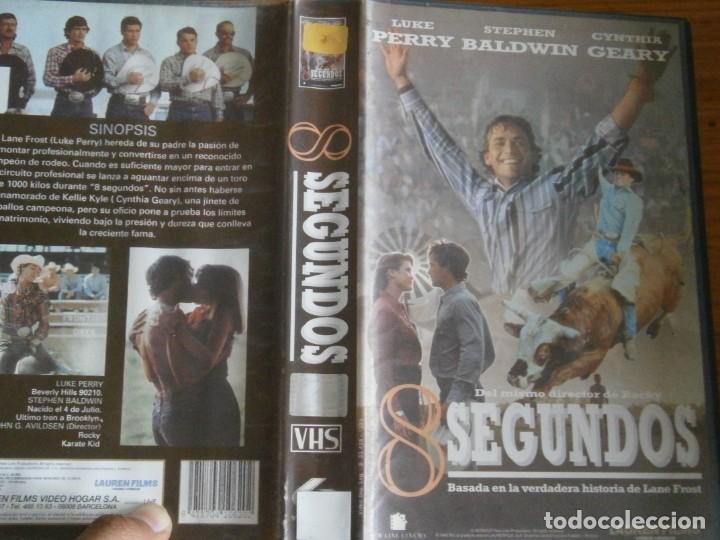 PELICULA VHS, 8 SEGUNDOS (Cine - Películas - VHS)