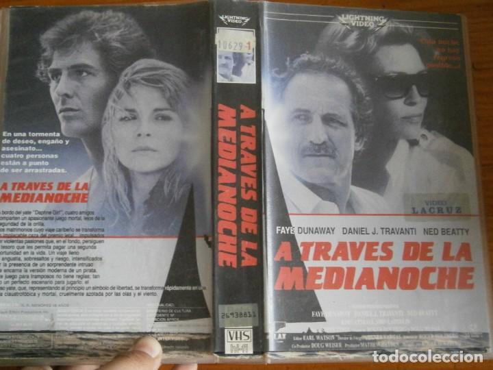PELICULA VHS, ATRAVES DE LA MEDIANOCHE (Cine - Películas - VHS)