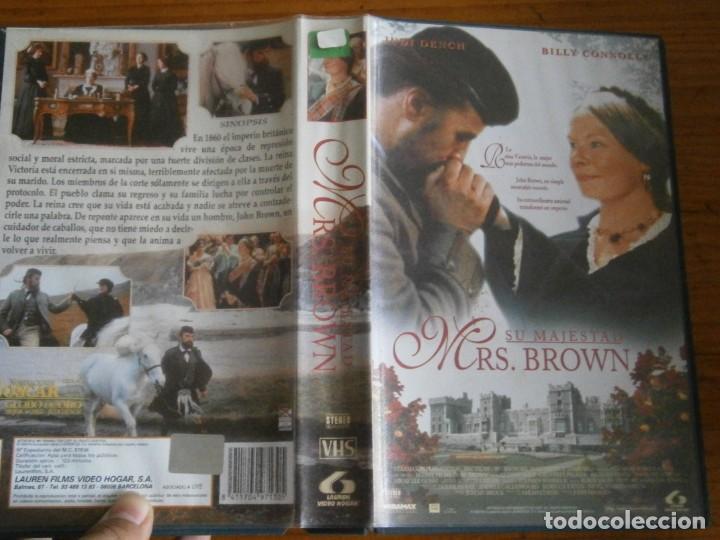PELICULA VHS, SU MAJESTAD MRS. BROWN (Cine - Películas - VHS)