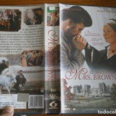 Cine: PELICULA VHS, SU MAJESTAD MRS. BROWN. Lote 257403600