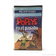 Cine: POPEYE EN EL PASADO ANIMACION PACIFIC VIDEO DIBUJOS ANIMADOS OLIVIA COCOLISO BRUTUS / HISTORICO VHS. Lote 257747600