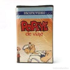 Cine: POPEYE DE VIAJE ANIMACION PACIFIC VIDEO DIBUJOS ANIMADOS OLIVIA COCOLISO BRUTUS JUNIOR 1983 CULT VHS. Lote 257747605