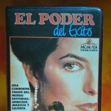 Cine: EL PODER DEL ÉXITO - MGM - VHS. Lote 257747720