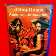 Cinema: DING DONG - AMOR EN LAS CAVERNAS (1971) - DIR. BRUNO CORBUCCI (ITALIANADA EROTICA). Lote 257908050