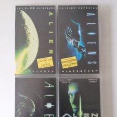 Cine: ALIEN - 4 PELICULAS ORIGINALES VHS - COLECCIÓN COMPLETA - BUEN ESTADO. Lote 258924590