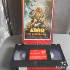 Cinema: VHS - ATOR EL PODEROSO - 21. Lote 259867320