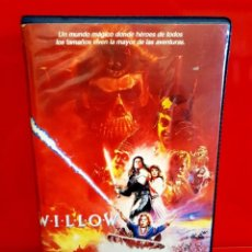 Cinema: WILLOW (1988) - WARWICK DAVIS, VAL KILMER, JOANNE WHALLEY - 1ª EDIC. VIDEOCLUB. Lote 260463295