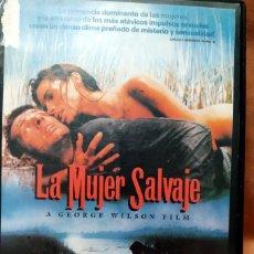 Cine: VHS - LA MUJER SALVAJE - GEORGE WILSON - LAMBERT WILSON, JOHN CARMET, SUZANNE FLON. Lote 260497885