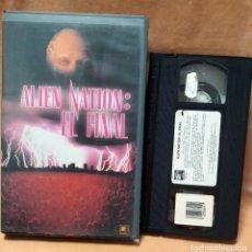 Cine: VHS - ALIEN NATION: EL FINAL - CIENCIA FICCION. Lote 260502470