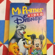 Cine: VHS MI PRIMER VIDEO DE DISNEY. 1994.. Lote 261648975